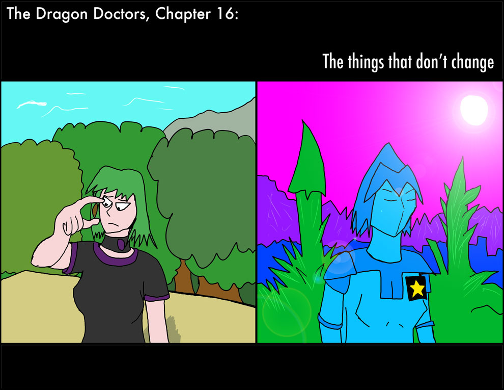 """Ch 16, Page 01, """"The Things That Don't Change"""""""
