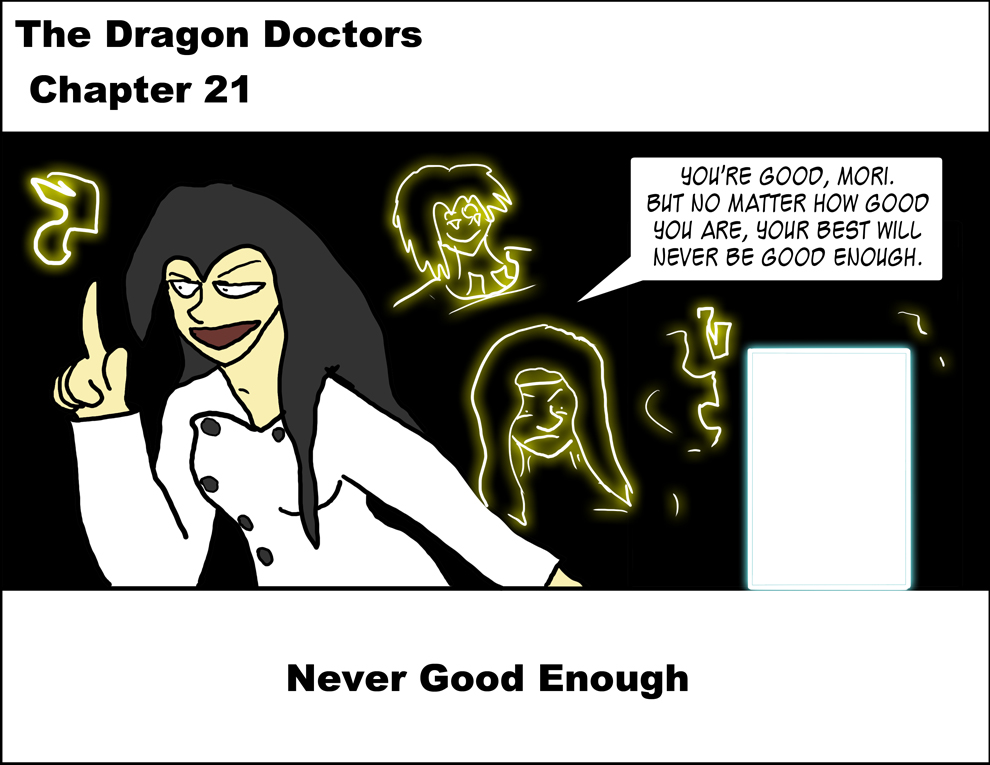 Chapter 21: Never Good Enough